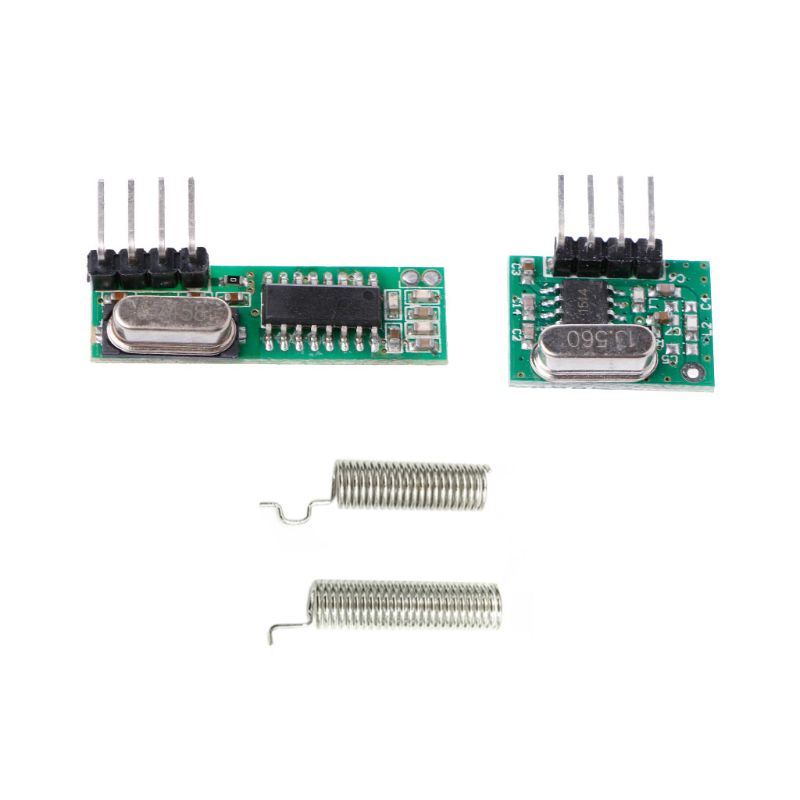 Transmitter-Module-Kit Rf-Receiver Superheterodyne 2-Antennas Arduino/arm/Mcu 433mhz