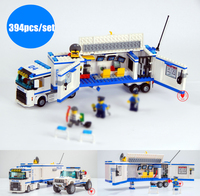New Urban Fluidity Police Station fit legoings city police swat figures Building Blocks Bricks Toys boys gift 60044 kid city =