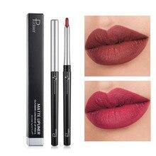 Pudaier матовый карандаш для губ 17 цветов телесный макияж коричневый сексуальный красный губная помада водонепроницаемый стойкий Контурный карандаш для губ PD065