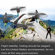 XY-017-2 Foldable 2.0 MP RC Quadcopter Drone Headless Mode Four Axis Aircraft Wifi Camera