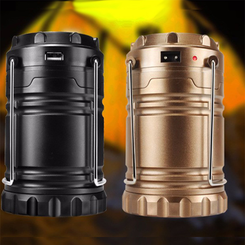 Duracell Solar Powered Black Outdoor Led Spot Light 6: Portable LED Spotlight Stretch Solar Camping Light Outdoor