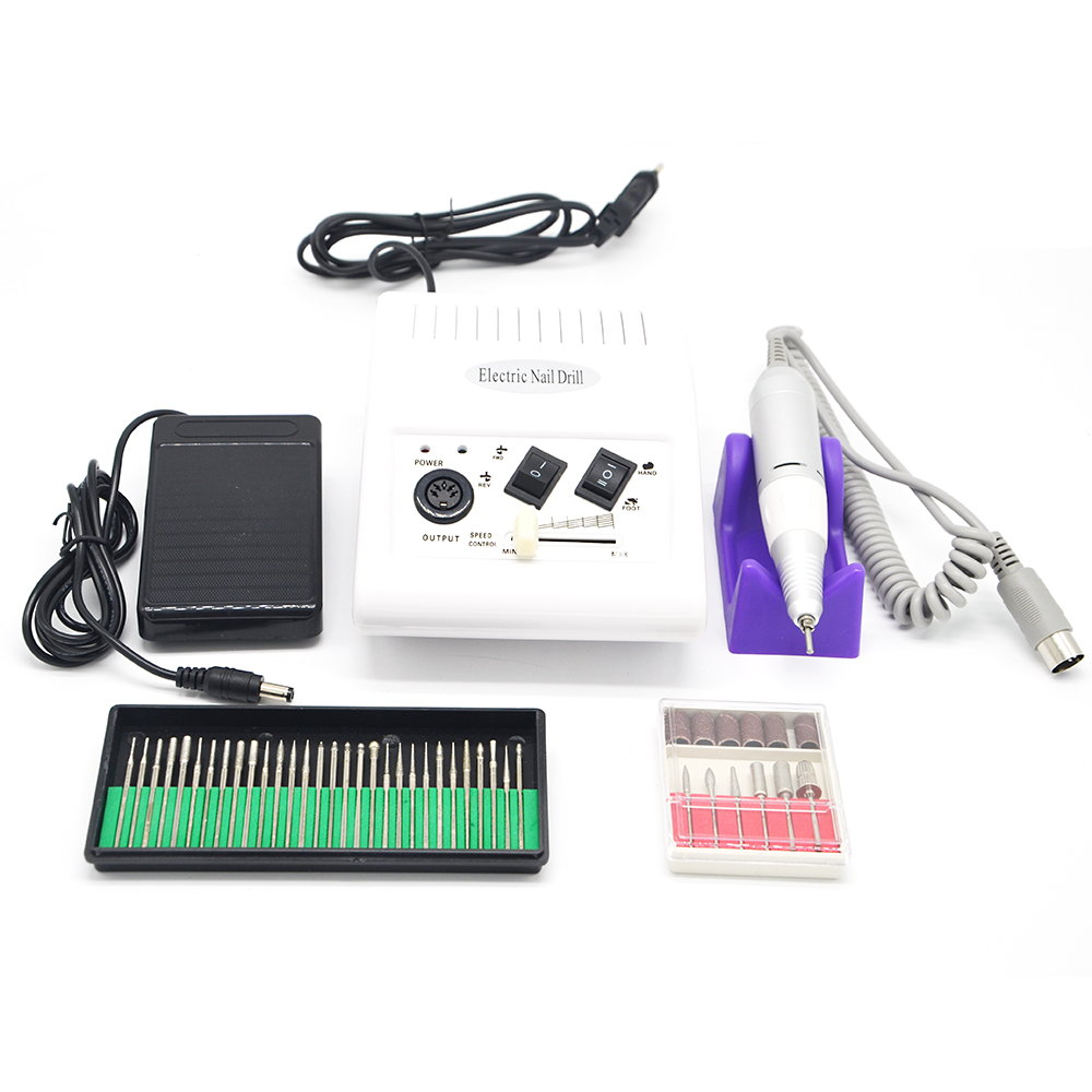 Électrique Polissage Manucure Nail Forage Machine Pédicure poli Stylo Nail Forets lime À Ongles Nail outils Ensemble
