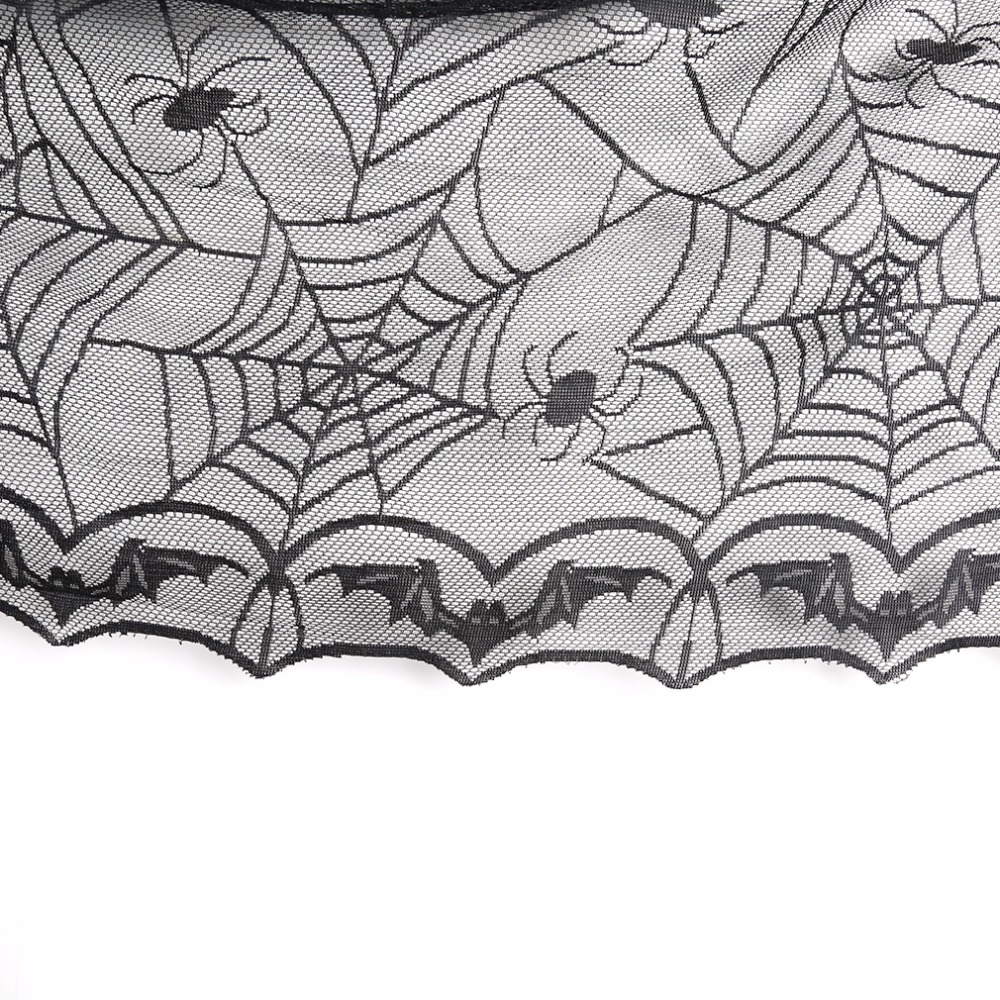Halloween tablecloth - Aliexpress Com Buy 1 Pcs Lace Black Spider Web Halloween Tablecloth Tablecover Rectangle 240 120 Cm Halloween Decoration Decor Props From Reliable Props