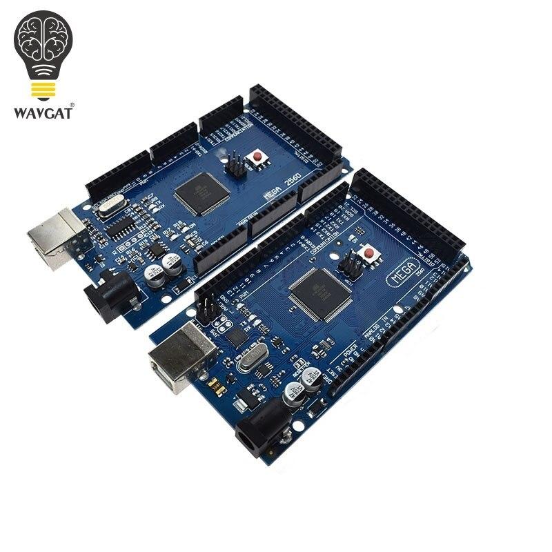 MEGA 2560 R3 MEGA2560 ATmega2560-16AU CH340G MEGA2560 AVR placa USB placa de Desenvolvimento para arduino