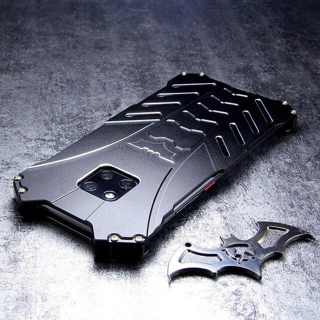 For HUAWEI Mate 30 Pro Case Batman Armor Aluminum Metal For P40 P30 P20 20 Pro 20X 5G lite nova 6 7 se Case Shockproof Coque