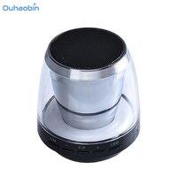Ouhaobin Nowy Mini Przenośnych Butli Kart USB Player Dla iPod iphone Telefon PC Światła LED Bluetooth Bezprzewodowy Odtwarzacz Sep25