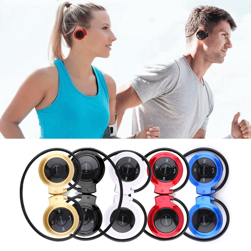 MINI503 Ear Hook Mini Sports Wireless Bluetooth Headset Hi-Fi Handsfree Stereo Earphone Headphone TF Card For MP3 Player sound intone 3 5mm in ear style hi fi handsfree headphone w microphone black cable 110cm