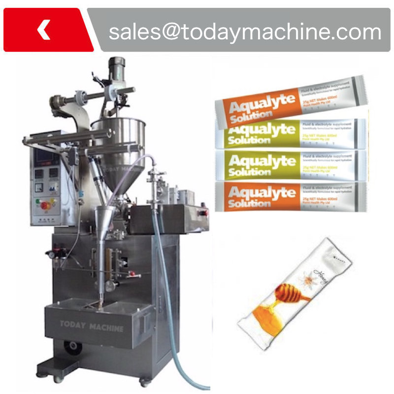Vertical Ketchup Small Pouch Liquid Packaging Machine