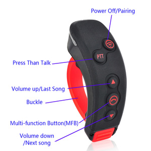 Image 3 - 2pcs T Rex Full Duplex Motorcycle Group Talk System 1500M 8 Riders BT Interphone Bluetooth Helmet Intercom Headset + FM Radio