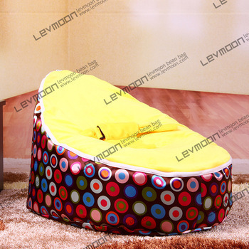 FRETE GRÁTIS feijão bebê tampa saco com 2 pcs tampa dourada cadeira do saco de feijão do saco de feijão do bebê do miúdo saco do bebê