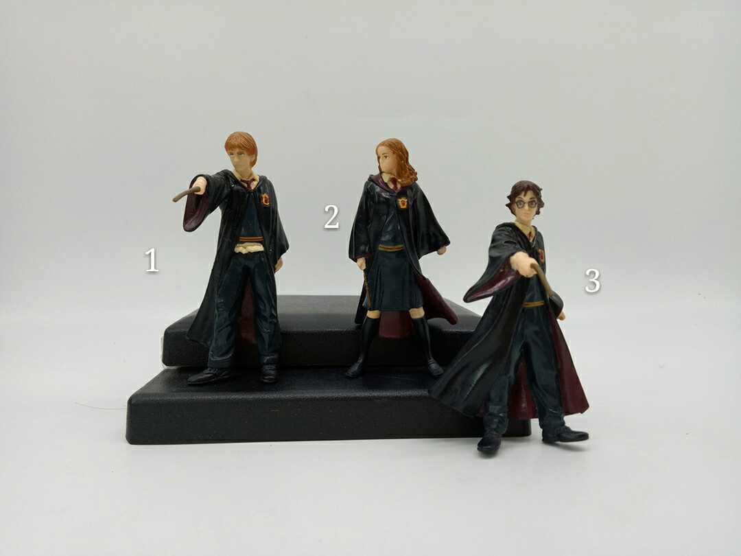 цена Seconds Classic Toy Original Imperfect Garage Kit Harry Potter, Hermione, Ron Doll Action Figure Collectible Model Loose Toy