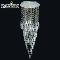 2014 New Modern Top Sales Dia500 2000mm Hotel Chandelier Crystal Free Shipping