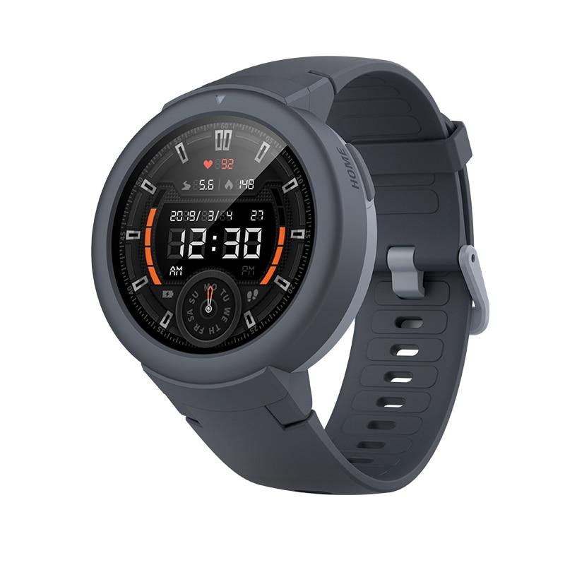 Smartwatch amazfit verge lite, versão global, gps, glonass, bateria de longa duração, ip68, display