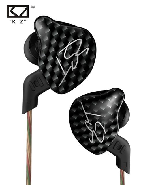 Kz zst l flexión hybrid drive correr deporte auriculares de alta fidelidad en la oreja los auriculares auricular auriculares con micrófono/mic sin