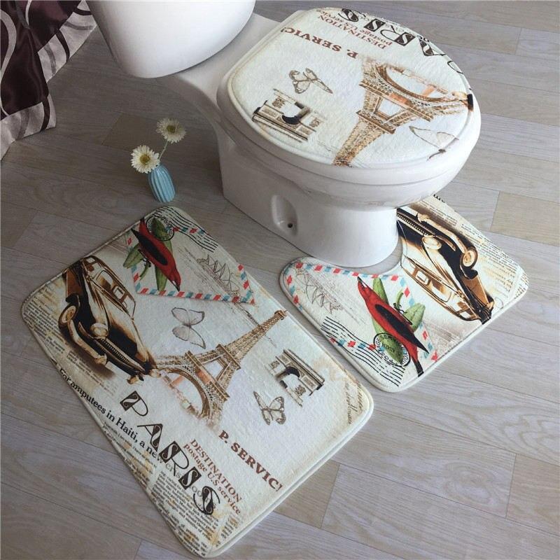 Meer Matten Set Wc Teppich Dusche Zimmer Teppiche Non-slip Bad Teppich EINE Breite Vielzahl Von Stilen Fuß Pads bad Boden Matten