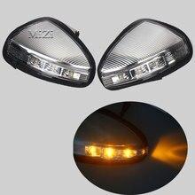 MZORANGE 1/2 шт указатель поворота Зеркало заднего вида сбоку лампа для LIFAN X60 рулевого управления индикатор стайлинга автомобилей влево/вправо