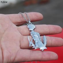 Fox and prince pendant necklace cute little prince necklace scott woods prince and little weird black boy gods