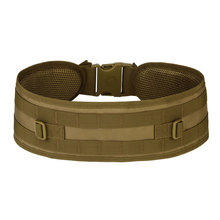 купить Molle System Girdle Waist Bag EDC Molle Equipment Belt Bag Men Small Bag Holder Pouch Bag Free Shipping Tactical Gear Outdoor дешево