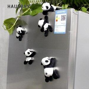 Китайская панда, наклейки на холодильник, милые кукольные декоративные наклейки, магниты на холодильник, специальные рождественские подар...