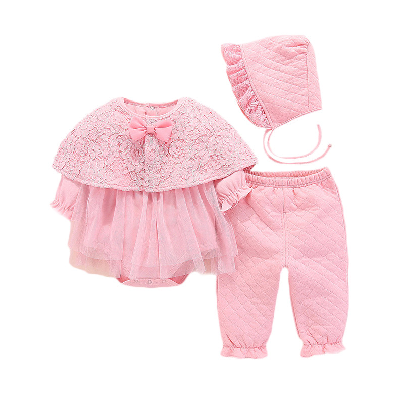 Expressive Lawadka Newborn Baby Girl Clothes Cotton Coveralls Rompers Princess Winter Warm Baby Set Girl 1st Birthday Party Clothes Large Assortment Clothing Sets