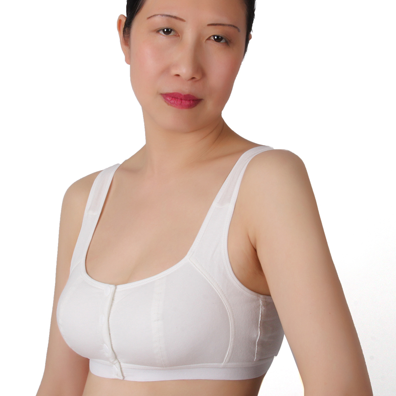 12d45b187ee4b Cheap sale Woman s No rims 100% all cotton Bra Simple and comfortable  cotton solid color wire free bh bra lingerie A2C