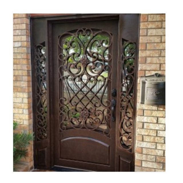 Aluminum Front Door Kerala Front Door Designs Solid Wood Door