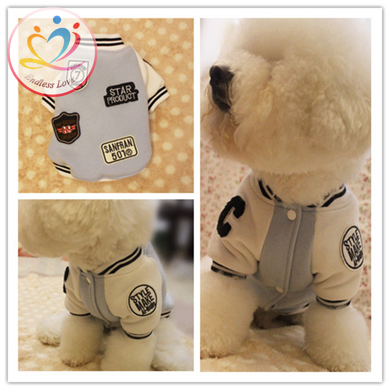 New Arrival winter autumn S-XXL Puppy Coat dog Jacket Pet Clothes dogs hoodies clothing pets Lapel polo sport suit Dog Apparel