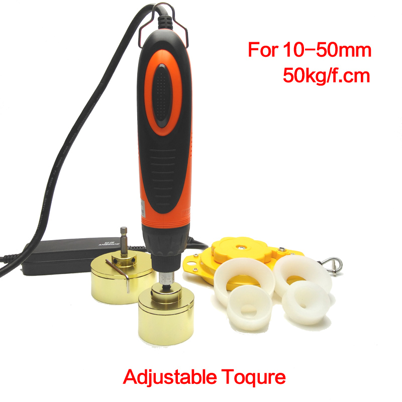 Bottle Large torque Capping Machine handheld Wearable electric sealing bottles and packaging equipment lid tightener 5-50mm amandeep kaur parminder singh and ginni sharma micro strip wearable antenna