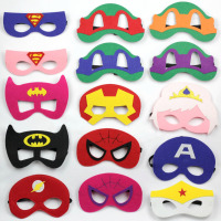 500PCS hallown mask costume mask kids costume accessories elsa&anna BATMAN tmnt starwars darth vader SUPERMAN fit adults
