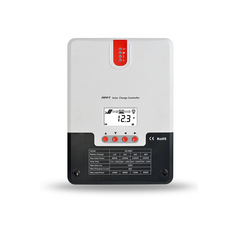 MPPT Solar Charging Controller for 20/30/40/60A 12V/24V Lithium Lead Acid BatteryMPPT Solar Charging Controller for 20/30/40/60A 12V/24V Lithium Lead Acid Battery