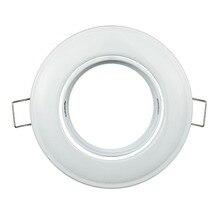 Акция на год карданный набор высокой мощности Светодиодный прожектор GU10 MR16 держатель Железный чехол светодиодные светильники