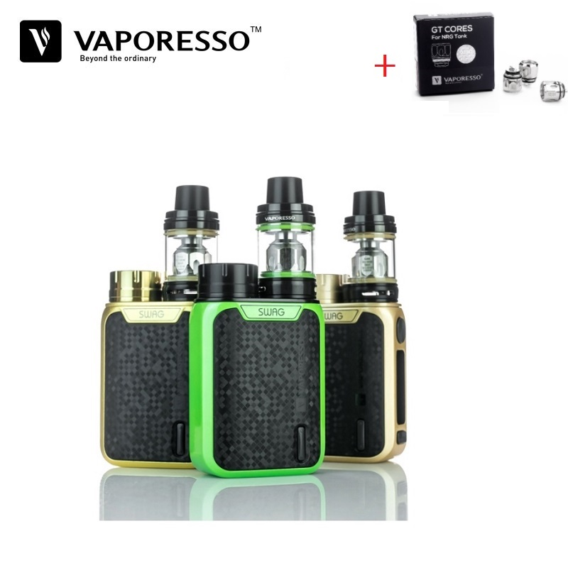 Electronic Cigarette Vaporesso Swag Kit 16850 Box Mod Vape Cigarette Electronique Vaporizer 80W E-Cigarette VS Smok New Arrival
