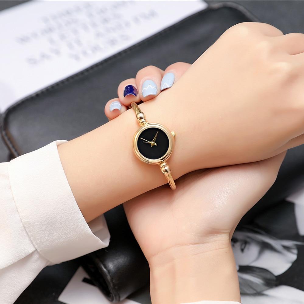 2017 BGG Top Nowa skórzana Lady Twórczy zegarek w stylu - Zegarki damskie - Zdjęcie 6
