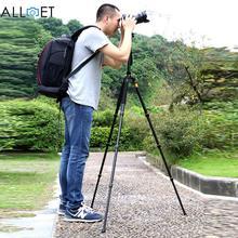 Профессиональные QZSD Q666 Алюминий Штатив Монопод Шаровой Головкой Для Canon Pentax Sony Цифровая Зеркальная Камера Olympus