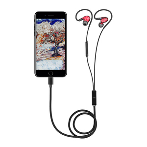 Image 2 - Câble pour écouteurs FiiO irc mmcx Lightning avec Microphone pour iPhone se/5s/6/7/8/x