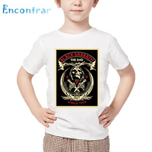 Kids Heavy Metal Rock Band Black Sabbath Print T shirt