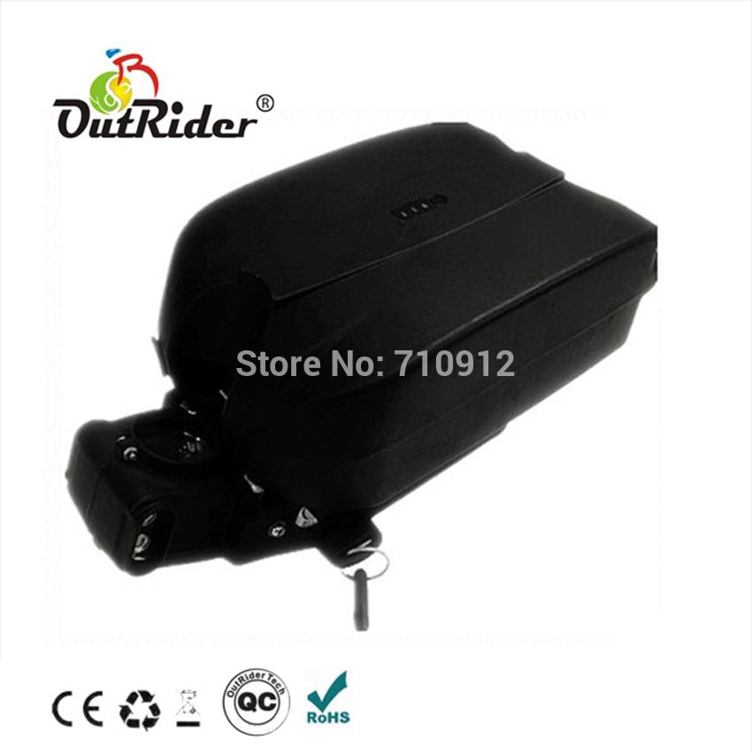 Vente batterie en forme de grenouille 36 V 6Ah 8Ah 9Ah 10Ah avec chargeur 2A pour Ebike OR02A1