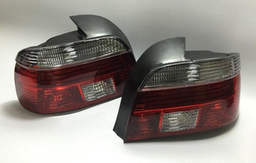 Qirun LED feu arrière + feu de frein + clignotant feu de pare-chocs arrière réflecteur pour BMW série 5 E39 520i 523i 525i 528i 530i 540i