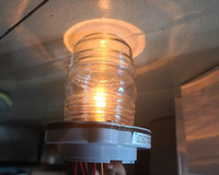 bulb 12v 12V Marine Boat Bulb Light 25W Navigation Light Signal Lamp All Round 360 Degree Night Lighting Red/Green/White (4)