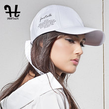 Furtalk Women Cotton Baseball Cap Summer Sun Snapback Hat Cap Letter Hat for Men Women Hip Pop Cap White and Black 2019(China)