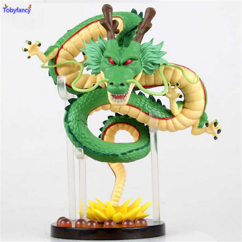 Tobyfancy Dragon Ball Z Figures Shenron Anime Dragon Ball Z Action Dragon Shenlong DBZ Toy PVC Figure Shenglong Dragon j g chen anime cartoon dragon ball z shenron shenlong gold pvc action figure collectible model toy free shipping