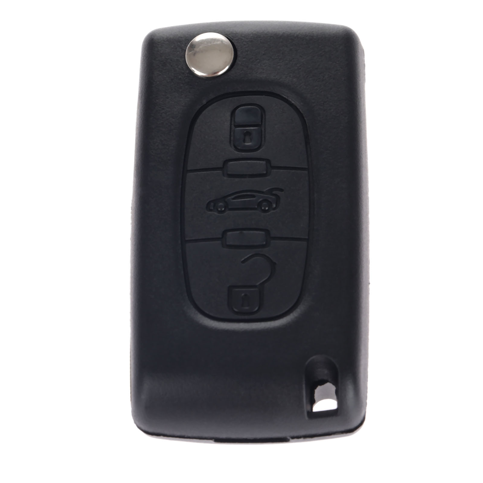 Image 4 - 3 Buttons Auto Flip Folding Remote Entry Key Fob Case Cover Blank Blade For Citroen C4 Picasso C5 C6 Replacement Car Key Shell-in Car Key from Automobiles & Motorcycles