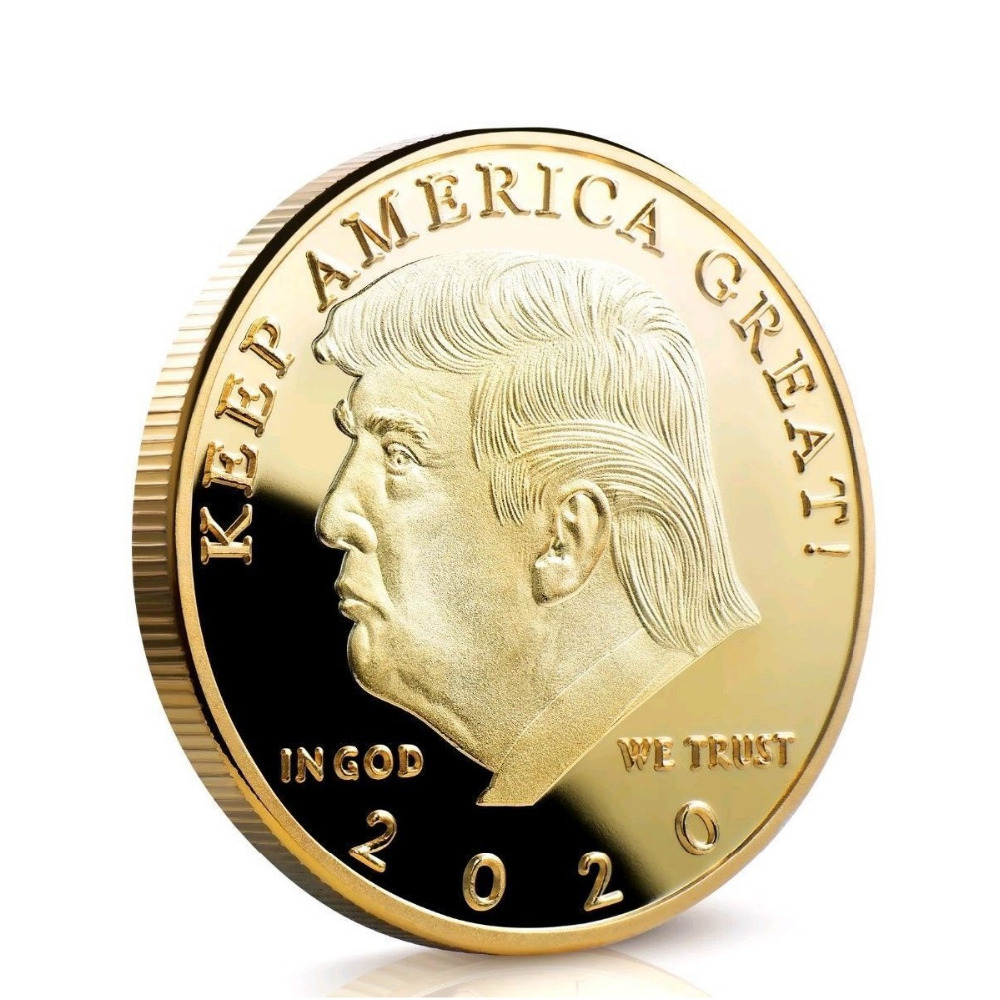 10Pcs Donald Trump 2020 Keep America Great USA Commemorative Challenge Coins s5