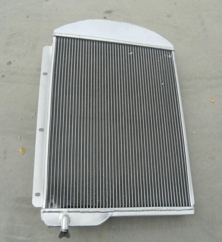 3 core aluminum radiator for Chevy Pickup Truck 1941-1946 1942 1943 1944