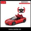 Licenciado Rastar Ferrari 458 speciale Um 1:14 carro de controle remoto com USB de carregamento de uma chave para abrir a porta 74560