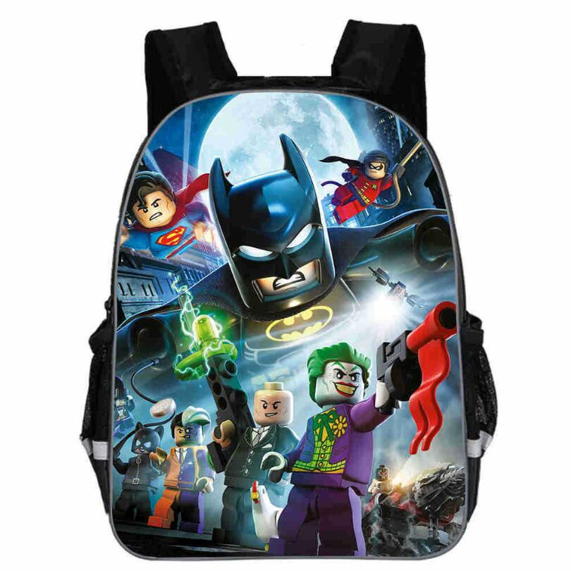 13 Inch Kids School Bag Avengers Backpack For Children Infinity Printing Cartoon Children School Bags Boys Girls Teenage Bag