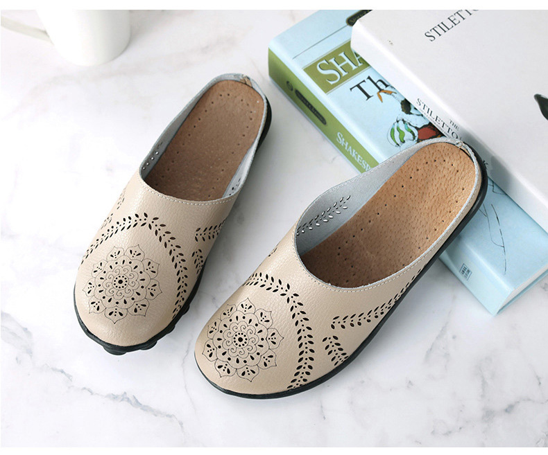 XY 991 Cut Outs Women's Summer Flats Shoes -7