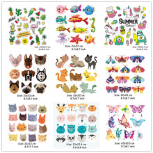 Wholesale Patches Appliques Animals Cars Flowers Set Heat Transfer Washable Diy Badges Iron-On Transfers For Clothing