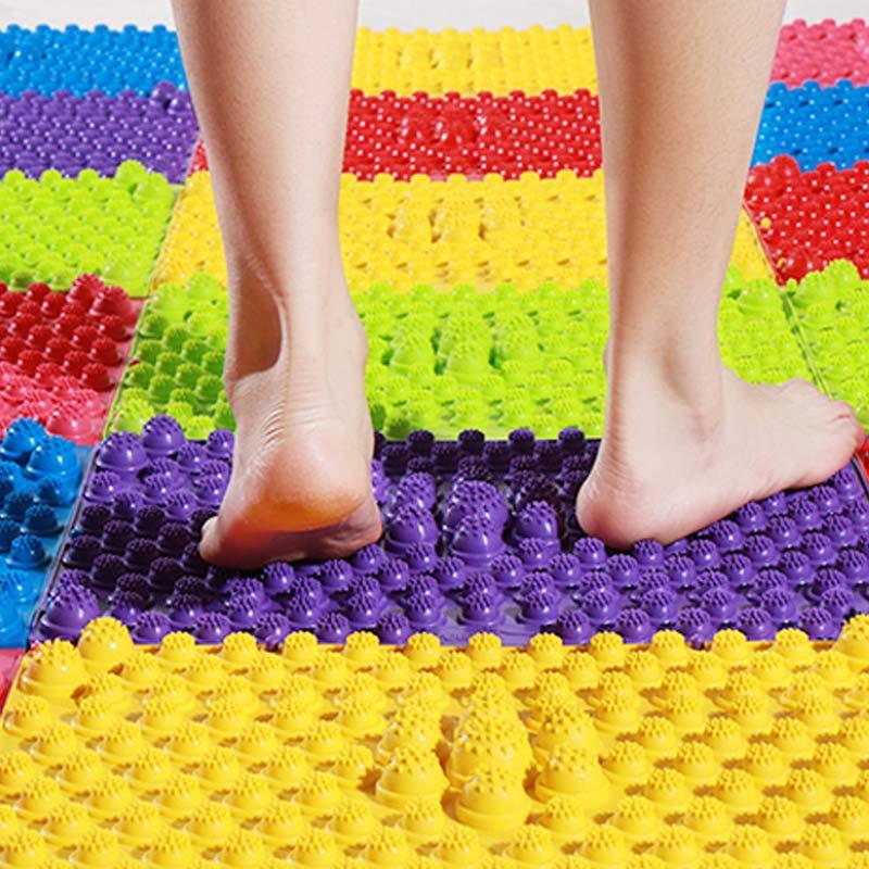 Hot Sale Durable Reflexology Foot Massage Pad Toe Pressure Blood Circulation Plate Mat DC88 For Massager