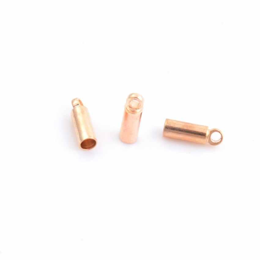 เครื่องประดับ Diy 2.5/3/4mm Clasps Hooks สาย End Caps สำหรับเครื่องประดับสร้อยข้อมือสร้อยคอ DIY